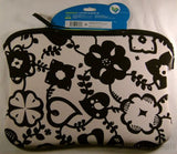 "BYO 12-13"" Ladybug Sideways Laptop Sleeve Black White Zipper Bag Carry Case NEW - FUNsational Finds - 2"