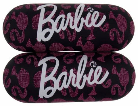 Lot 2 Barbie Glamtastic Eye Sunglasses Hard Case Black Pink Kids Girls Licensed - FUNsational Finds - 1