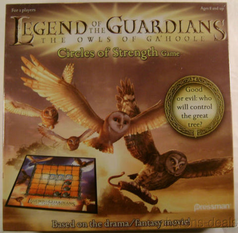 Legend Guardians Owls GaHoole Circles Strength Board Game Fantasy Movie Family - FUNsational Finds - 1