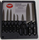 Slitzer 17 Pc Professional Kitchen Knife Set Cutlery Stainless Steel Full Tang - FUNsational Finds - 3