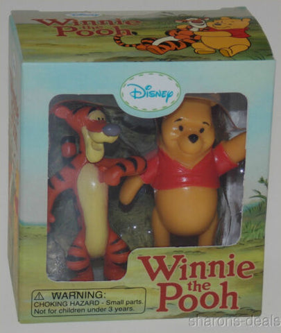 Winnie The Pooh Tigger Figurines Lot of 2 Mega Mini Kit Disney Book