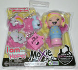 Lot 4 Moxie Girlz Charm Bracelet & Moxiemini I AM LUCKY HAPPY CREATIVE HOPE NEW - FUNsational Finds - 4