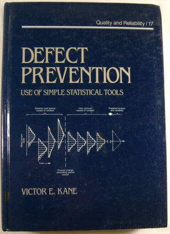 Defect Prevention Vol 17 Simple Statistical Tools Victor Kane 1989 HC Histograms - FUNsational Finds - 1