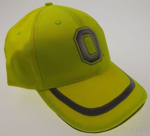 OSU Ohio State University Buckeyes Hunting Safety Cap Hat Fluorescent Yellow HMI - FUNsational Finds - 1