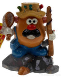 Lot 4 Top Fin Aquatic Fish Decoration Mr Potato Head Ornament Fishing Sunbathing - FUNsational Finds - 3
