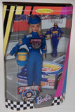 Mattel Barbie Doll 50th Anniversary NASCAR Collector Edition Uniform Stand NIB - FUNsational Finds - 1