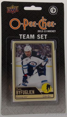 Upper Deck O Pee Chee NHL 2012-2013 Team Set Winnipeg Jets Hockey Cards Sealed - FUNsational Finds - 1