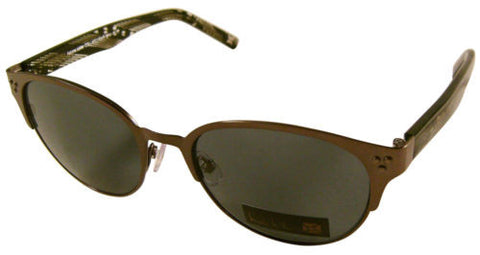 Nicole Miller Signature Eyewear Sunglasses Round Retro Olive Metal 50-17-135 NEW - FUNsational Finds - 1