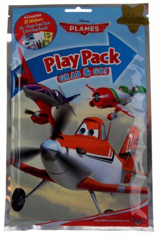 Disney Planes Play Pack Wholesale Lot 36 Grab Go Coloring Book Crayons Favors