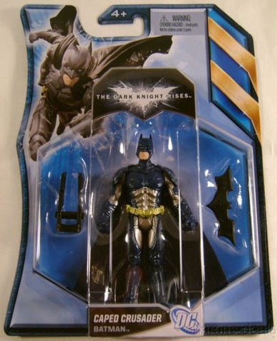 Batman The Dark Knight Rises Stealth Vision Mislabel Blue DC Comic Mattel Figure - FUNsational Finds
