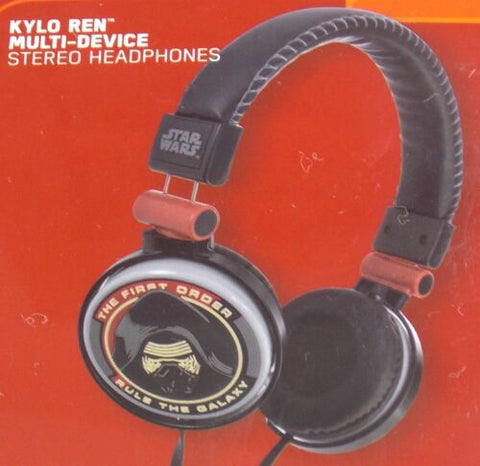 Headphones Star Wars The Force Awakens Kylo Ren Multi Device Stereo Disney