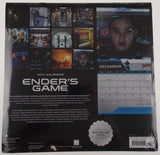 Lot 2 Enders Game Movie Scenes Novel 2014 Wall Calendar Collectible Sealed NEW - FUNsational Finds - 3