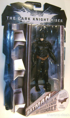 Batman The Dark Knight Figure Rises Movie Masters Bat Signal Adult Collection - FUNsational Finds - 1