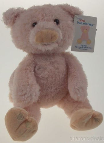 Baby Gund This Little Piggy Soft Interactive Plush Toy Talks Animated Stuffed - FUNsational Finds - 1