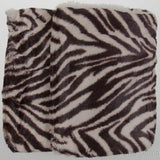Set 2 Sherpa Pillow Shams Brown Animal Print Regal Comfort Luxurious DPS1004 NEW - FUNsational Finds - 3