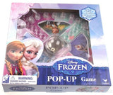 Disney Frozen Pop Up Game Lot of 3 Trouble Puzzle Go Anna Elsa Olaf Resealable