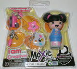 Lot 4 Moxie Girlz Charm Bracelet & Moxiemini I AM LUCKY HAPPY CREATIVE HOPE NEW - FUNsational Finds - 2
