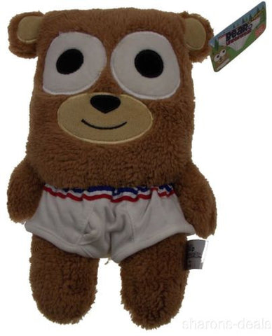 "Gund Bear In Underwear 12"" Plush Friends Stuffed Animal Striped Undies Soft Toy - FUNsational Finds - 1"