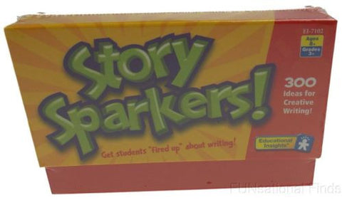 Lot 5 Story Sparkers! Educational Insights Creative Writing Sentence Question - FUNsational Finds - 1