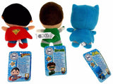Lot 3 DC Comics Originals Little Mates Superman Batman Green Lantern Plush Set - FUNsational Finds - 2