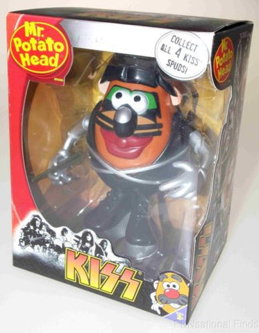 Hasbro Mr Potato Head Kiss The Catman Peter Criss Collectible Figure Drumsticks - FUNsational Finds - 1