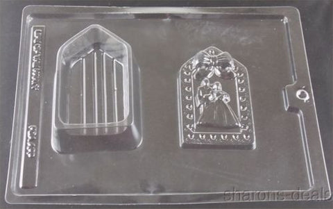 Wedding Shower 3D Pour Box Chocolate Candy Mold CybrTrayd W55 Favor Gift Dish - FUNsational Finds