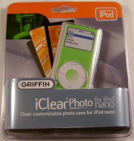 Case Lot 48 Griffin iClear Customizable Photo Cases 3 Insert iPod 2G 8113-NCLRCS - FUNsational Finds - 1