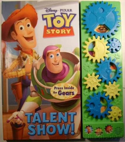 Disney Pixar Toy Story Talent Show Gears Lot of 4 Play a Sound Book Musical HC