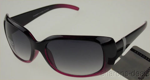Accessories Sunglasses Purplish Pink Plastic 100% UV Protection 62-19-125 Large - FUNsational Finds - 1