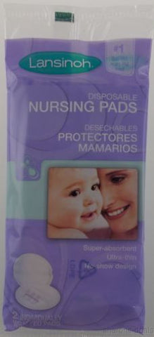 Case Lot Lansinoh Disposable Nursing Pads 600 Pads 300 Purse Packs Adhesive Seal - FUNsational Finds - 1