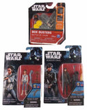Star Wars Rogue One Jyn Erso Princess Leia Box Busters Battle of Yavin Lot of 3