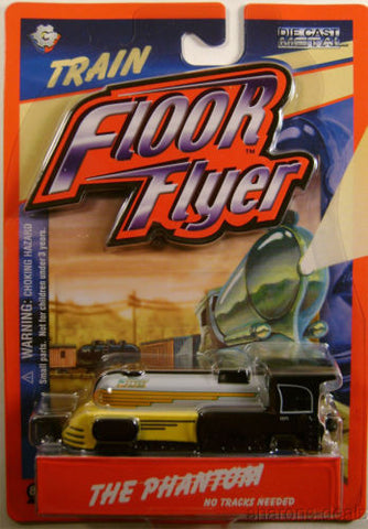 Floor Flyer Phantom Train Engine Die Cast Metal Gear Box Toys No Tracks Needed - FUNsational Finds