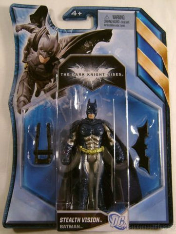 Batman Dark Knight Rises Stealth Vision Comics Mattel Action Figure Collectible - FUNsational Finds
