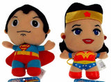 Lot 2 DC Comics Originals Little Mates Superman Wonder Woman Plush Superhero Set - FUNsational Finds - 1