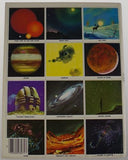 Golden Stamp Book Stars Planets 14th 1982 Stickers Vintage Sun Space Sky Drawing - FUNsational Finds - 2