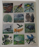 Golden Stamp Book Birds Of The World White 6th Printing 1976 Stickers Vintage - FUNsational Finds - 4