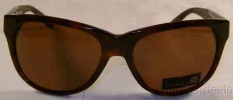 Nicole Miller Signature Eyewear Sunglasses Round Eclectic Mocha 55-17-135 Case - FUNsational Finds - 1