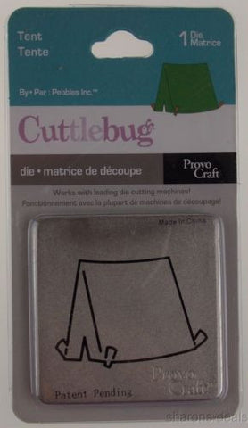 Cuttlebug Tent Die Lot 5 Provo Craft Camping Scrapbook Card Home Decor Scout 2x2 - FUNsational Finds - 1