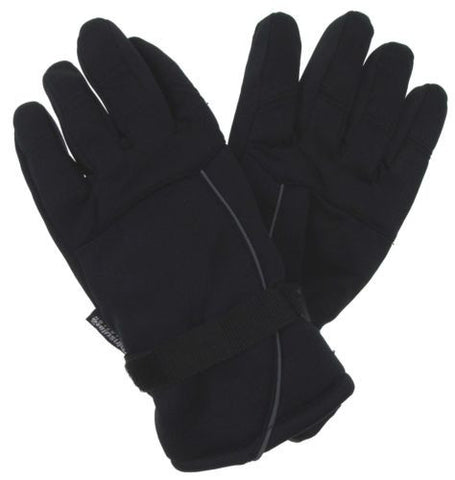 Black Structure Gloves 3M Thinsulate Winter Sport Mens One Size NEW - FUNsational Finds - 1