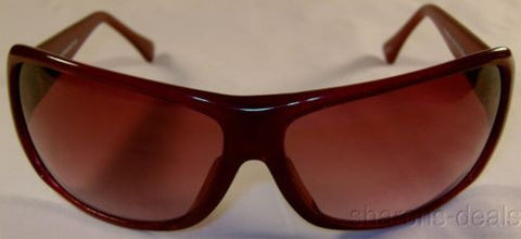 Nicole Miller Signature Eyewear Sunglasses Cat Eye Large Oversize Cranberry Case - FUNsational Finds - 1