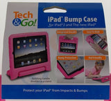 iPad 2 3 4 Tech & Go Bump Case Pink Protect Impact Handle Stand Carry Sturdy NEW - FUNsational Finds - 4