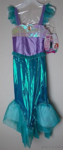 Disney Princess Ariel Little Mermaid Girl Costume S 4-6X Disguise Dress