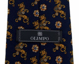 Lot 5 Olimpo 100% Silk Neckties Ancient Sailboat Dragon Classic Dress Business - FUNsational Finds - 5
