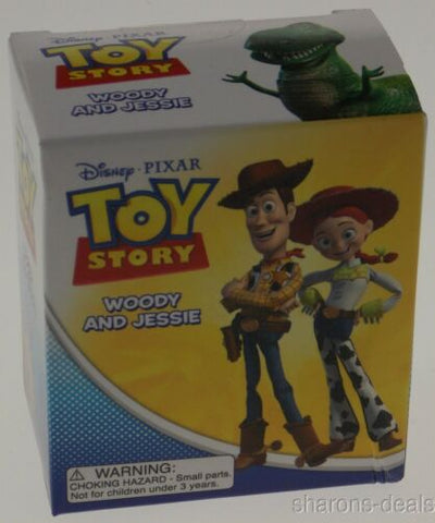 Toy Story Movie Woody Jessie Lot 2 Disney Pixar Mega Mini Kits Figurines Gift