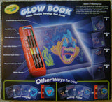 Crayola Glow Book Glowing Drawings Move Tracing Guides Markers Crafts Arts Paint - FUNsational Finds - 2