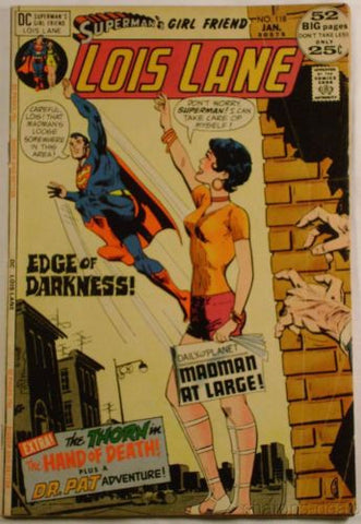 DC Comics Supermans Girl Friend Lois Lane No 118 Edge Of Darkness January 1972 - FUNsational Finds - 1