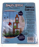 Lot 2 Rovio Angry Birds Red Bath Rug Mat Blue Microfiber Shower Curtain Pigs Set - FUNsational Finds - 4