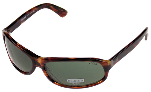 Brown Marble Sunglasses Estoril Lozza 1651 De Rigo Womens Italy 63-14-130
