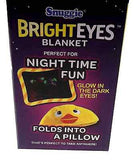 Snuggie Bright Eyes Kids 50x36 Throw Blanket Pillow Glow In The Dark Soft Cuddly - FUNsational Finds - 6