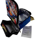 Superman Thermos Insulated Kids School Lunch Bag Box Tote Padded Handle Licensed - FUNsational Finds - 2